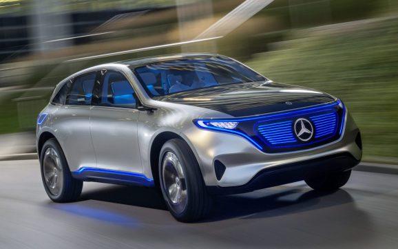 A Daimler self-driving carA Daimler self-driving car