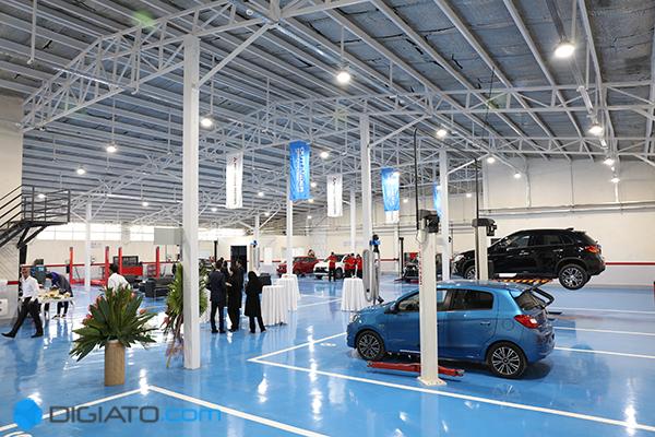 CFCF1293 1BBF 40ED ACCC 807FD2E87DEB - افتتاح یک مرکز خدماتی جدید میتسوبیشی در جاده مخصوص؛ تعهد هلدینگ آرین به تامین قطعات یدکی