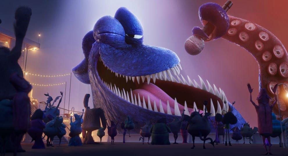 HTR3 Kraken بررسی انیمیشن Hotel Transylvania 3: Summer Vacation ، مسافران کشتی هیولاها اخبار IT