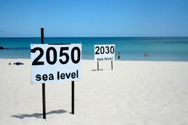 افزایش سطح آب دریاها