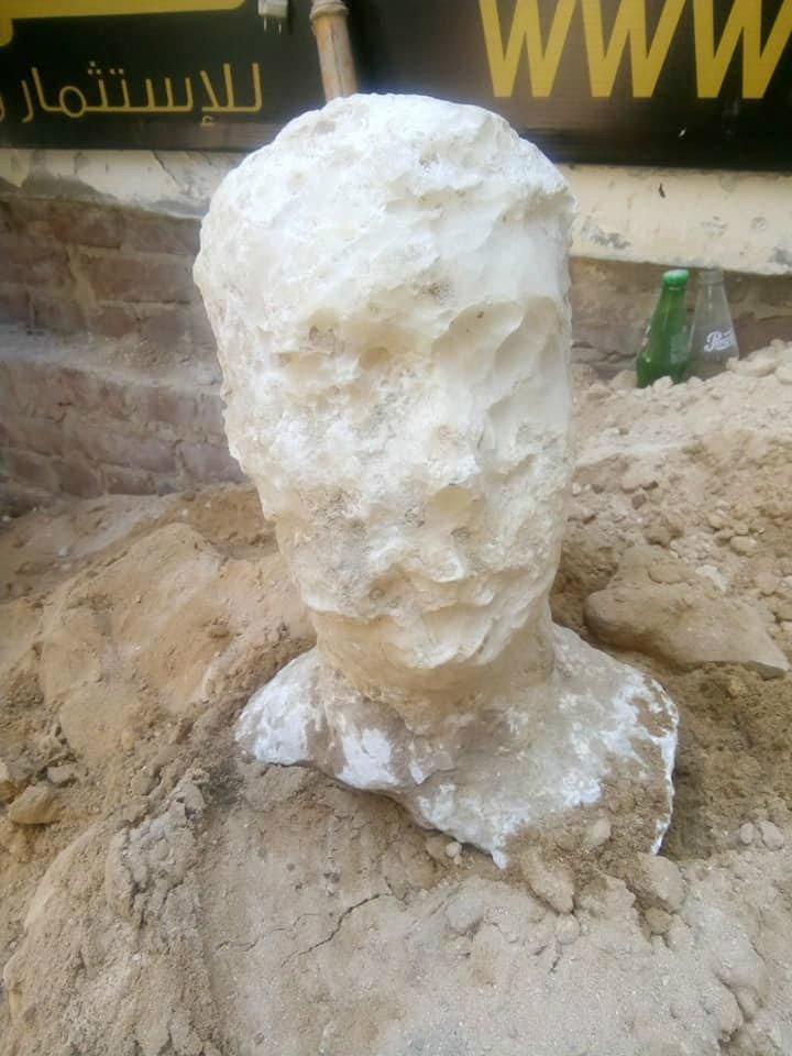 کشف تابوت گرانیتی در اسکندریه مصر