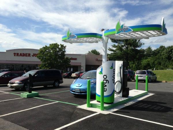 eVgo-charging-station