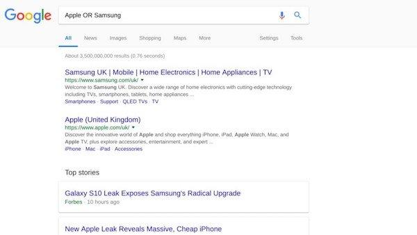 سرچ پیشرفته با گوگل