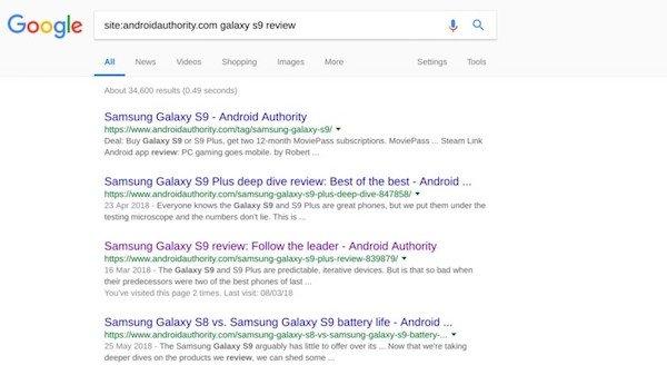 سرچ پیشرفته در گوگل