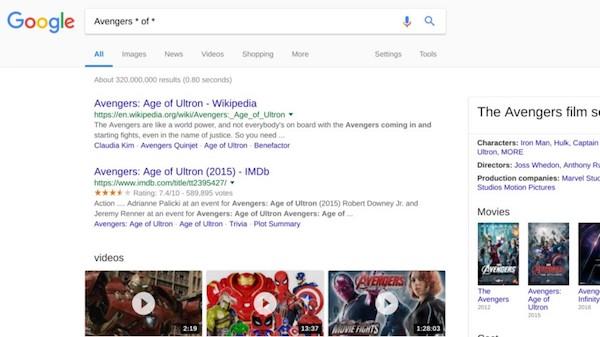 جستجوی پیشرفته در گوگل