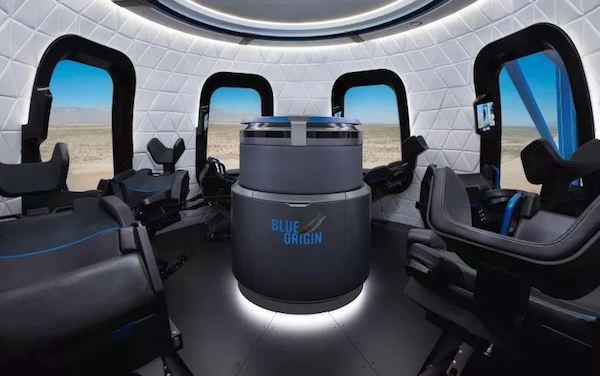 سفرهای فضایی بلو اوریجین