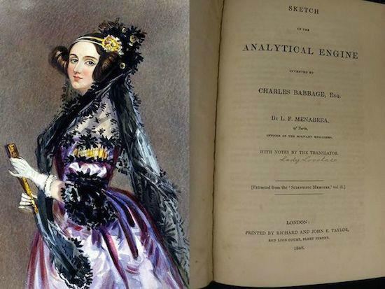 کتاب ایدا لاولیس نخستین برنامه نویس تاریخ