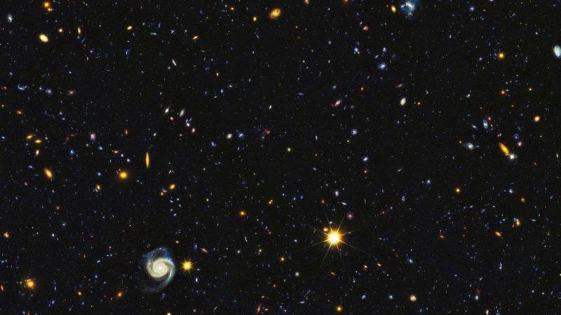عکس جدید هابل از عمق فضا 15 هزار کهکشان مختلف را نشان می دهد