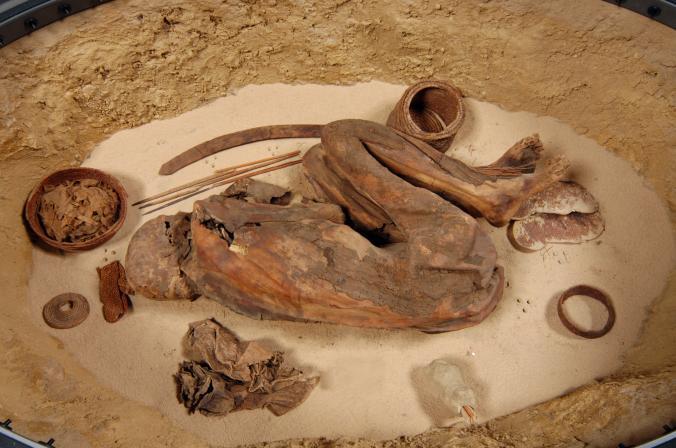 کشف مومیایی متعلق به 1500 سال پیش از دوران فراعنه مصر