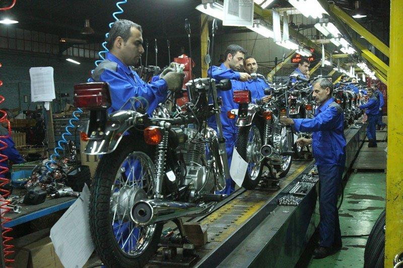 توقف شماره گذاری 42 مدل موتورسیکلت