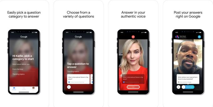 4455 1 گوگل و معرفی اپلیکیشن Cameos برای پرسش و پاسخ با سلبریتیها اخبار IT