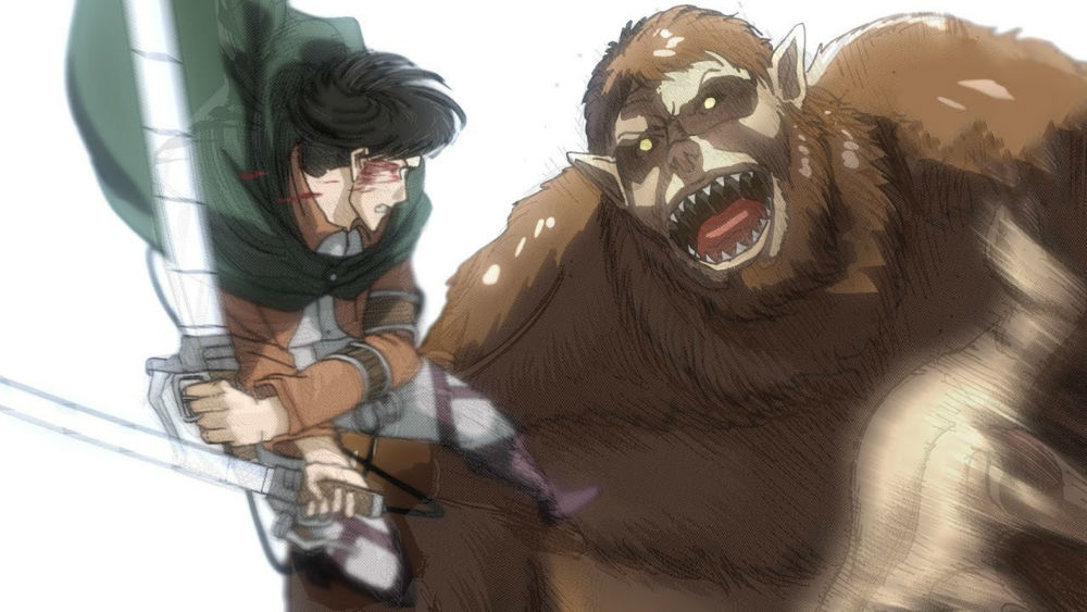 انیمه Attack on Titan