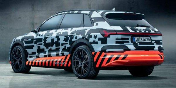 Audi e-tron Concept 2018