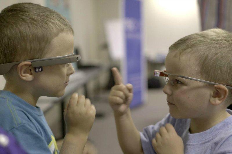 گوگل گلس درمان کودکان مبتلا به اوتیسم