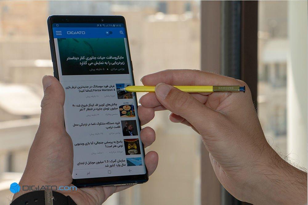 گلکسی نوت 9 در ایران