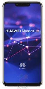 Huawei Mate 20 Lite 151x300 تصاویر میت ۲۰ لایت از بریدگی نمایشگر حکایت دارد اخبار IT