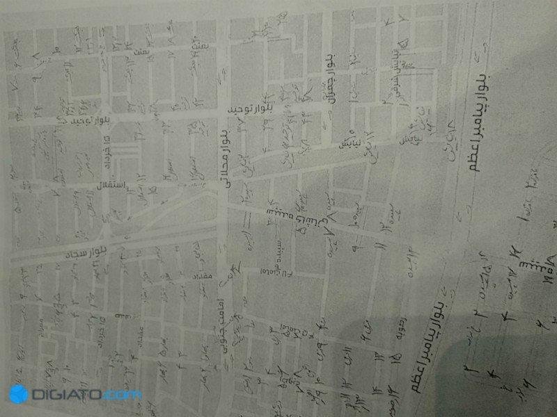نقشه آنلاین نما