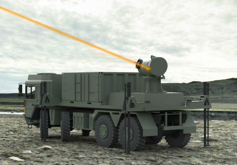 سلاح لیزری ارتش آمریکا