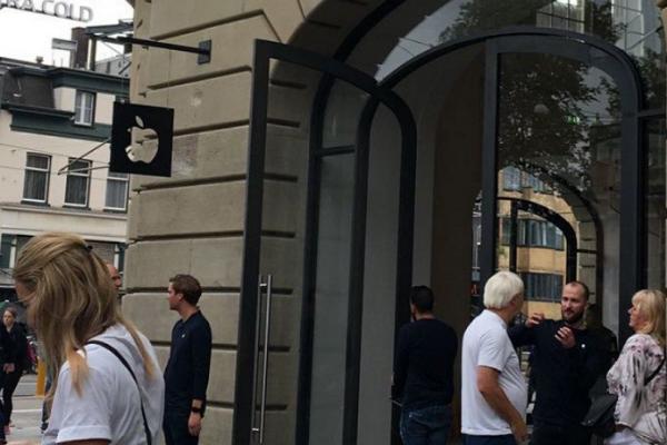 تخلیه اپل استور به خاطر ترس از انفجار آیپد