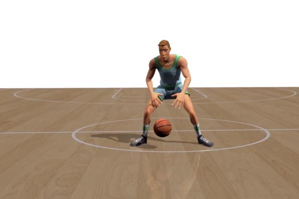 Screen Shot 2018 08 07 at 10.02.17 AM - هوش مصنوعی نحوه دریبل بسکتبال را میآموزد [تماشا کنید]