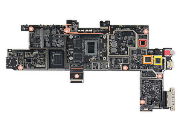 Surface Go 7 - کالبد شکافی سرفیس گو خبر از امتیاز تعمیر پذیری بسیار پایین می دهد
