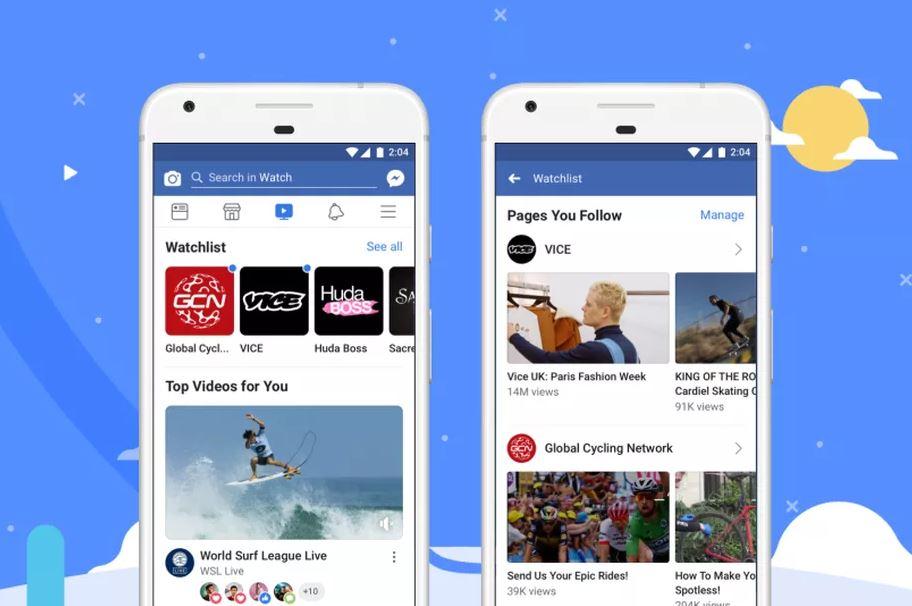سرویس Watch فیسبوک، رقیب احتمالی یوتیوب به عرضه جهانی رسید