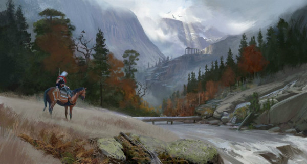 assassins creed odyssey concept art gamescom 2018 3 w600 - تصاویر و تریلرهای جدید Assassin's Creed Odyssey نوید تجربهای حماسی میدهند [تماشا کنید]