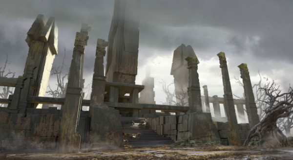 assassins creed odyssey concept art gamescom 2018 6 w600 - تصاویر و تریلرهای جدید Assassin's Creed Odyssey نوید تجربهای حماسی میدهند [تماشا کنید]