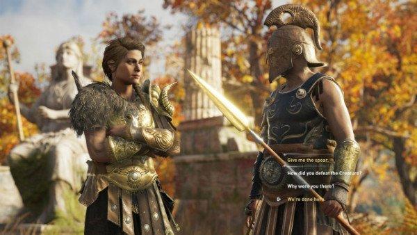 assassins creed odyssey gamescom 2018 screens 1 w600 - تصاویر و تریلرهای جدید Assassin's Creed Odyssey نوید تجربهای حماسی میدهند [تماشا کنید]