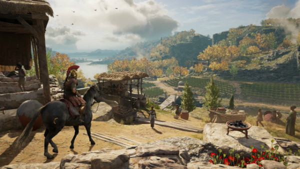 assassins creed odyssey gamescom 2018 screens 5 w600 - تصاویر و تریلرهای جدید Assassin's Creed Odyssey نوید تجربهای حماسی میدهند [تماشا کنید]