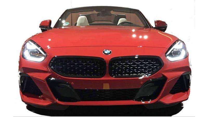 تصاویر ب ام و Z4 M40i مدل 2019 لو رفت