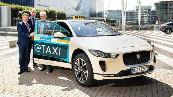 جگوار با کراس اوور برقی I-Pace به جنگ تاکسی های مرسدس بنز در آلمان می رود