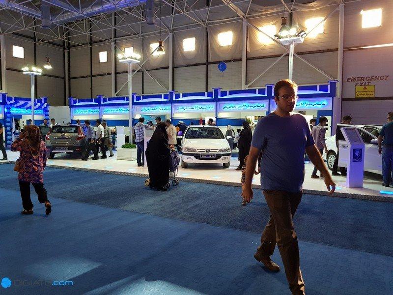 mashdad car exhibition 16 گزارش اختصاصی دیجیاتو از نمایشگاه خودرو مشهد؛ تنگنای خودروسازان در پساتحریم اخبار IT