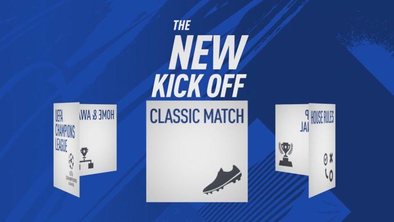 بخش Kick-Off فیفا 19 معرفی شد؛ گل کوچیک در زمین فوتبال [تماشا کنید]