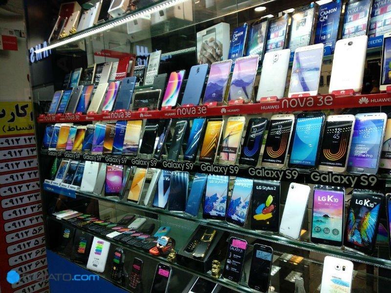 وضعیت بازار موبایل