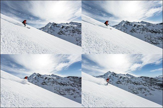 آموزش عکاسی در حالت Burst Mode