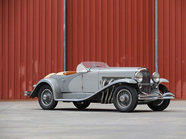 10. دوسنبرگ SSJ مدل 1935 – فروخته شده به قیمت 22 میلیون دلار توسط حراجی Gooding & Company در سال 2018 (گران ترین خودروی آمریکایی تاریخ)