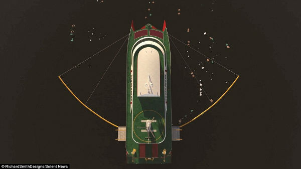 12 2 1 - این کشتی ۵۲ میلیون دلاری روزانه ۵ تن پلاستیک اقیانوس را بازیافت خواهد کرد