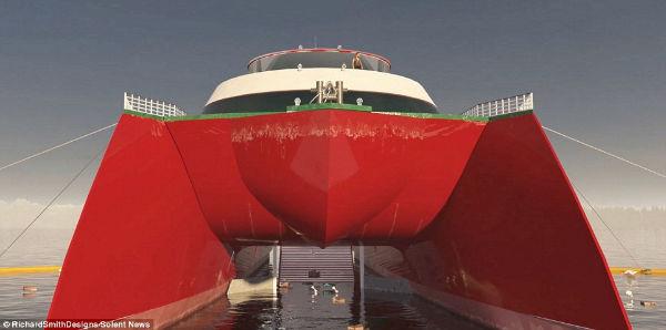 12 3 1 - این کشتی ۵۲ میلیون دلاری روزانه ۵ تن پلاستیک اقیانوس را بازیافت خواهد کرد
