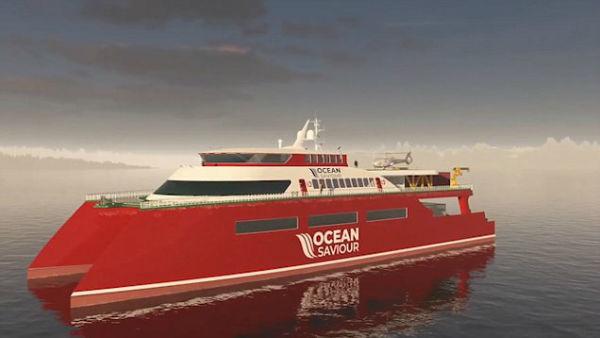 12 4 1 - این کشتی ۵۲ میلیون دلاری روزانه ۵ تن پلاستیک اقیانوس را بازیافت خواهد کرد