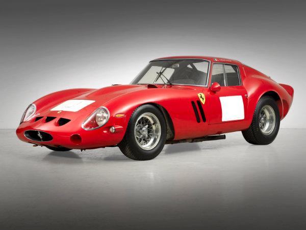 2. فراری 250 GTO Berlinetta مدل 1962 – فروخته شده به قیمت 38.15 میلیون دلار توسط حراجی Bonhams در سال 2014