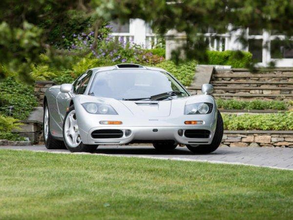 20. مکلارن F1 مدل 1995 – فروخته شده به قیمت 15.62 میلیون دلار توسط حراجی Bonhams در سال 2017