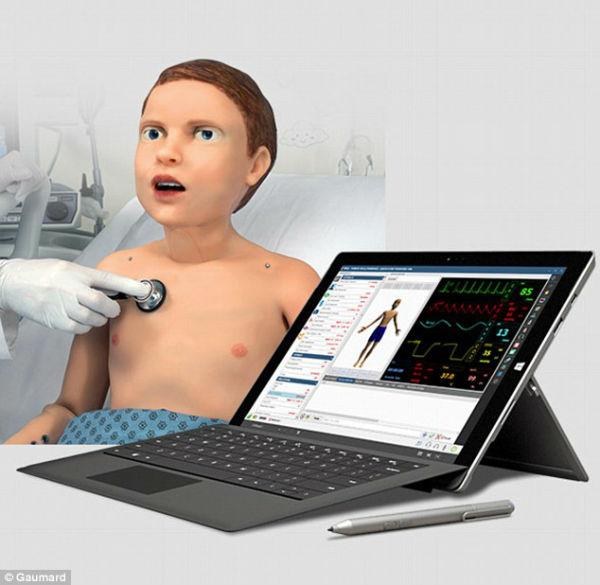 22 3 - با ربات شبیه ساز پزشکی HAL آشنا شوید [تماشا کنید]
