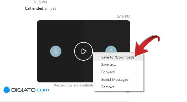 ضبط مکالمه در اسکایپ
