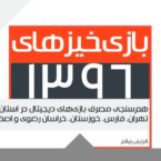 گزارش بازیخیزهای ۱۳۹۶ منتشر شد؛ گیمرهای خراسانی بیشتر از تهرانیها بازی میکنند