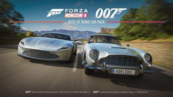 منتظر حضور اتوموبیلهای سری جیمزباند در Forza Horizon 4 باشید [تماشا کنید]