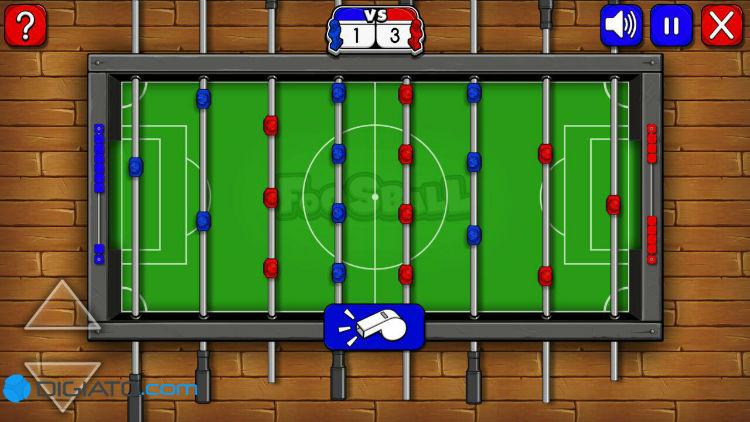 فوتبال دستی آنلاین