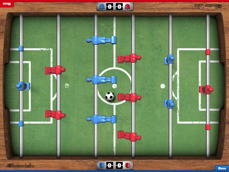 فوتبال دستی اندروید