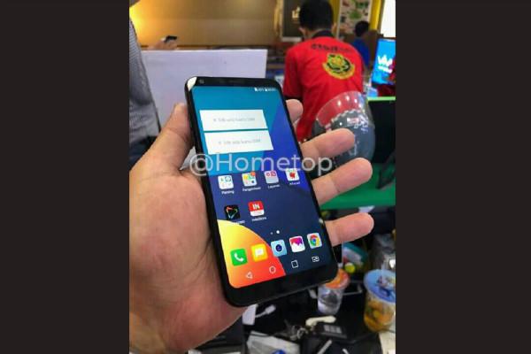 تصویر افشایی از موبایل ال جی Q9