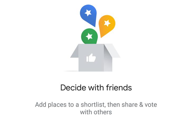قابلیت Shortlist به صورت آزمایشی در گوگل مپس شروع به کار کرد